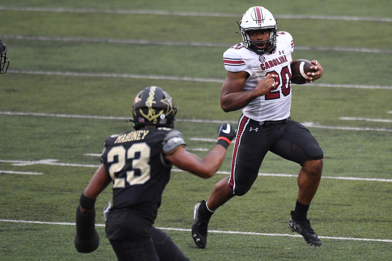 NCAA Football: South Carolina at Vanderbilt