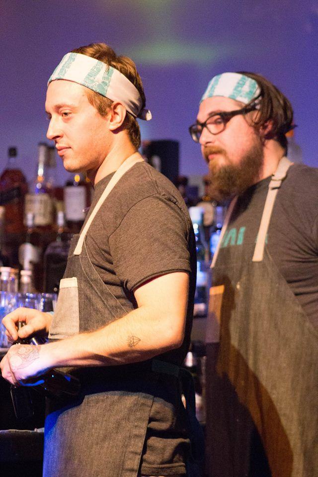 Nate Raczkowski and Ryan Barott of Hola Arepa. Photo courtesy of Iron Bartender