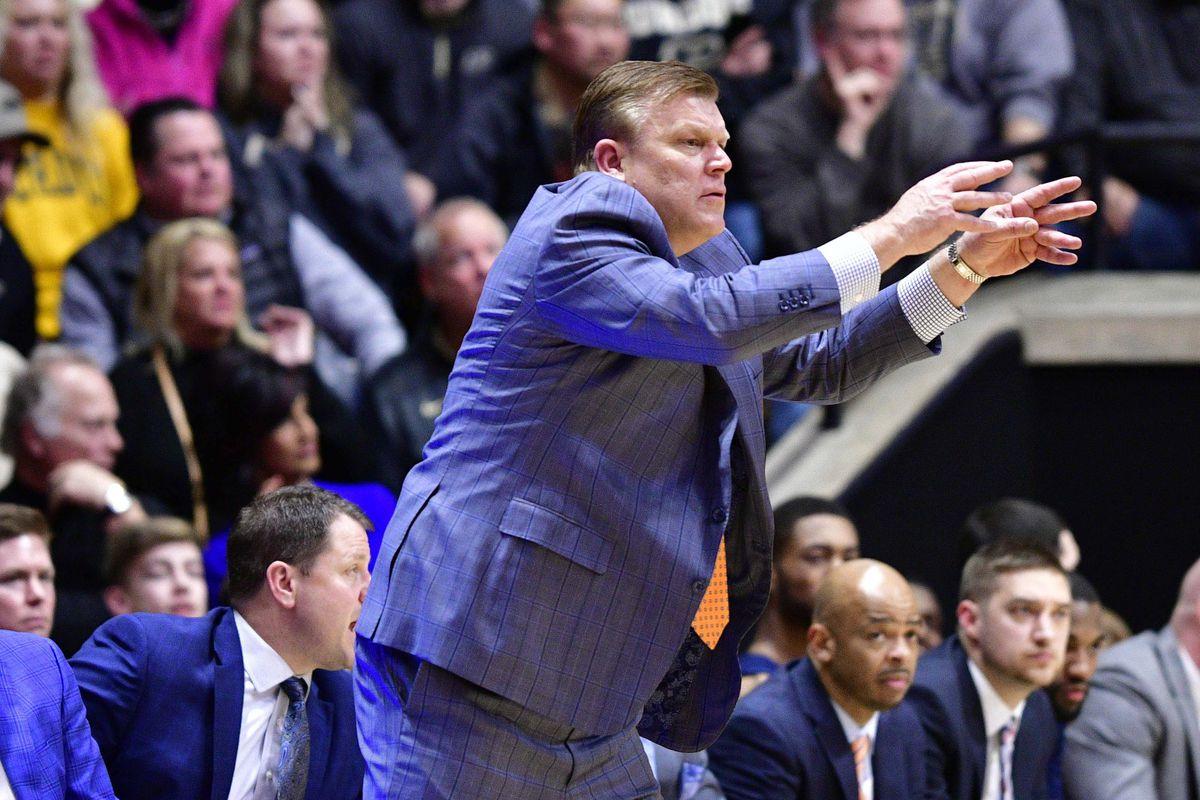 NCAA Basketball: Illinois at Purdue