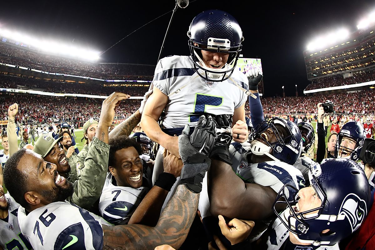 Seahawks Win Game Of The Year Again Field Gulls