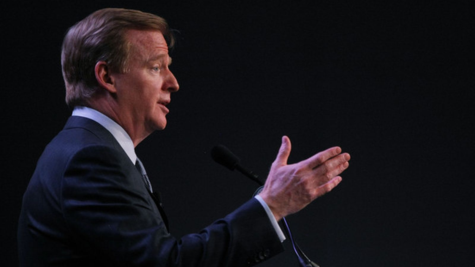 Roger Goodell谈到球员安全,NFL的未来等等