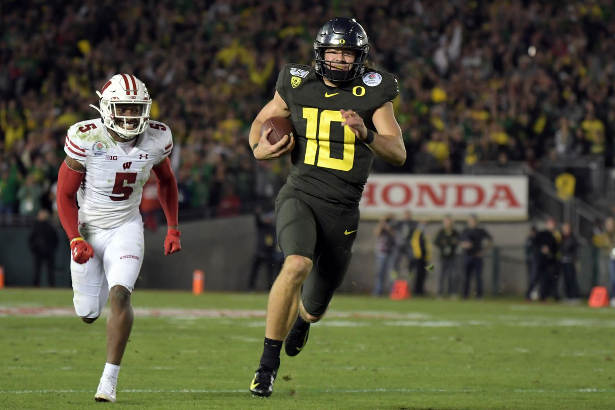 Where Will Justin Herbert Be Drafted Addicted To Quack