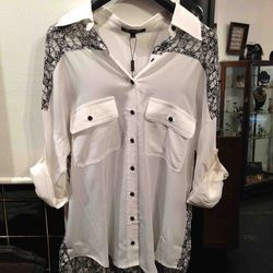 Primary button up, $136