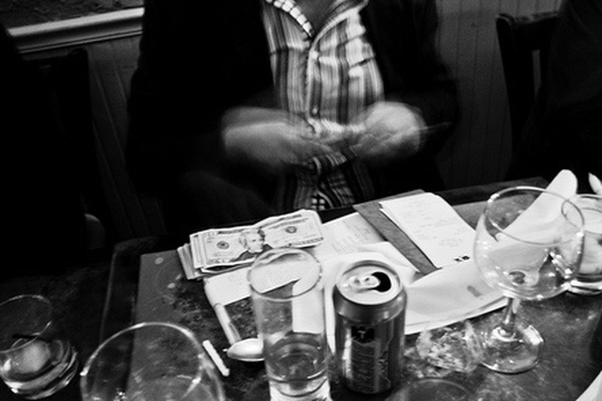 Paying the Check, Ofrenda