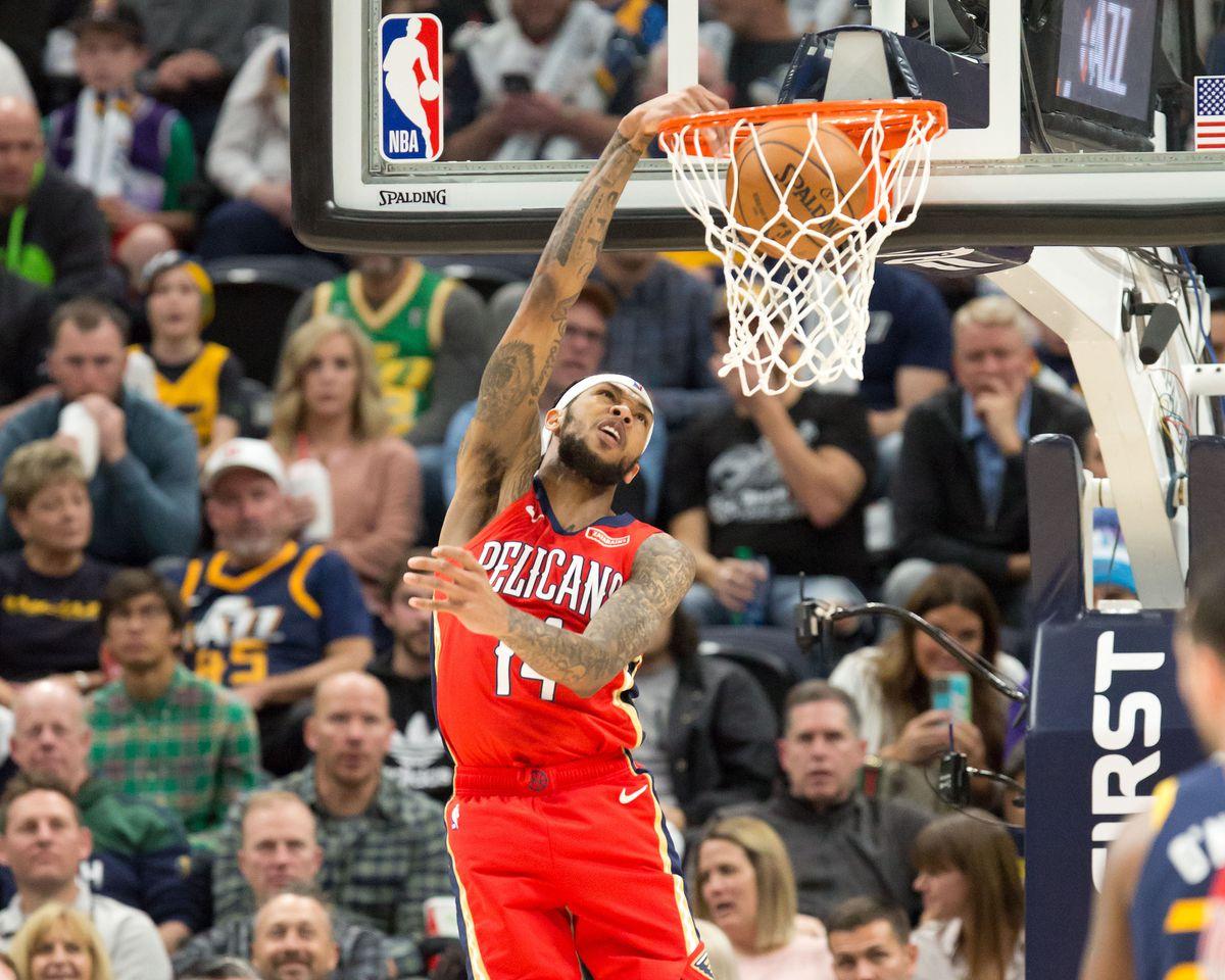NBA: New Orleans Pelicans at Utah Jazz