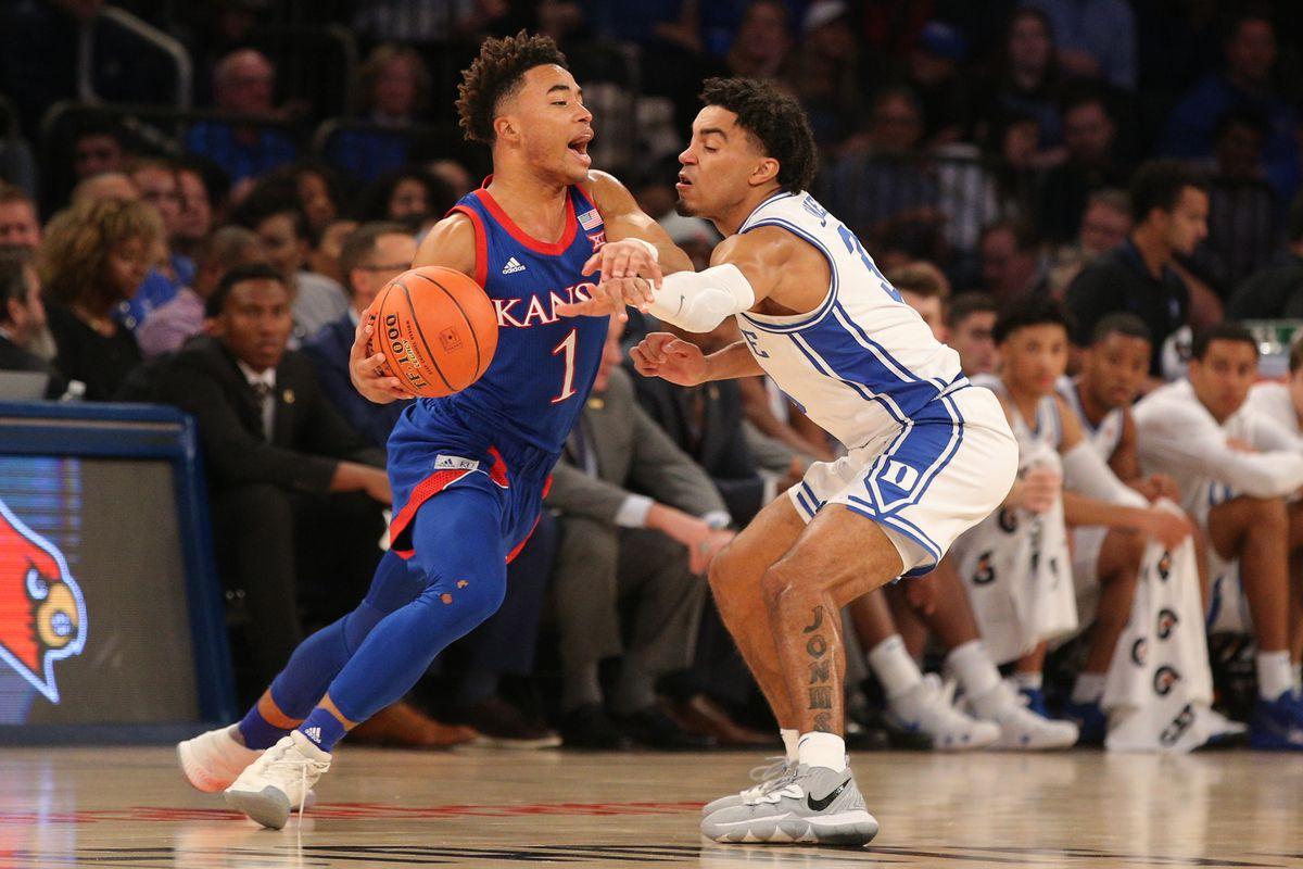 NCAA Basketball: Kansas at Duke