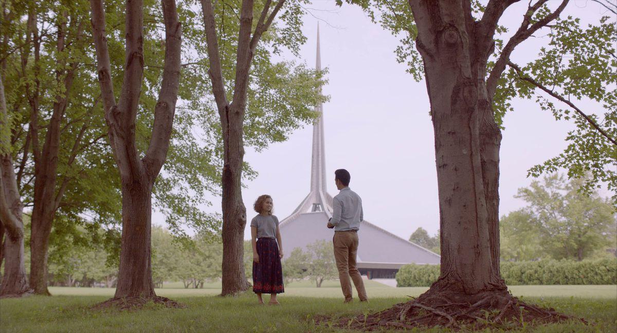 Haley Lu Richardson and John Cho appear inColumbusby Kogonada, an official selection of the NEXT program at the 2017 Sundance Film Festival.