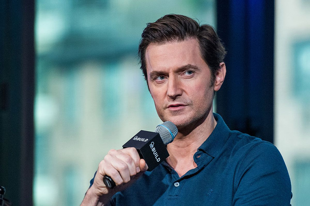 Actor Richard Armitage discusses 'Berlin Station with AOL Build at AOL HQ on October 10, 2016 in New York City.