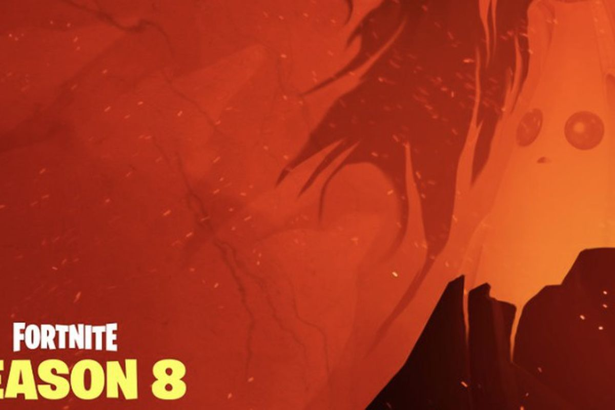 Final Fortnite Season 8 Teaser Hints At A Volcano A New