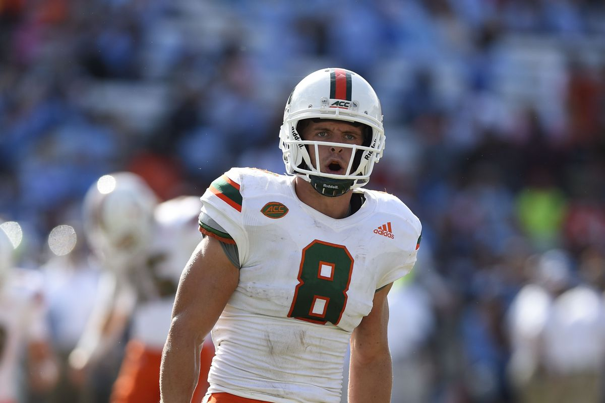 hot sale online b6d98 dcc22 Miami Hurricanes WR Braxton Berrios named finalist for ...