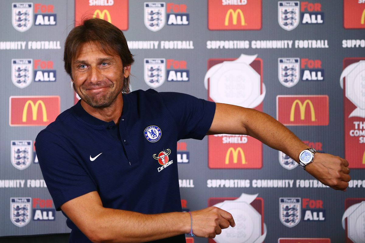 Antonio Conte angry over referee's decisions in community shield loss to Arsenal