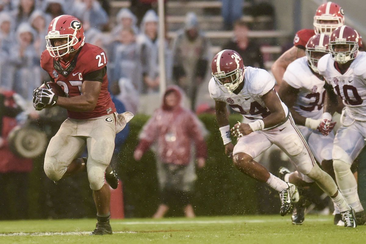 83 yards are 83 reasons to Vote4Chubb!