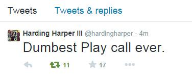 HardingTweet