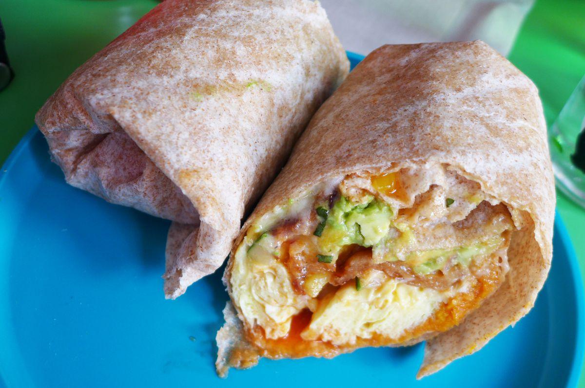 Don't miss the breakfast burrito.