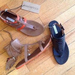 Koolaburra Sandals: $125 retail, $75 during sale