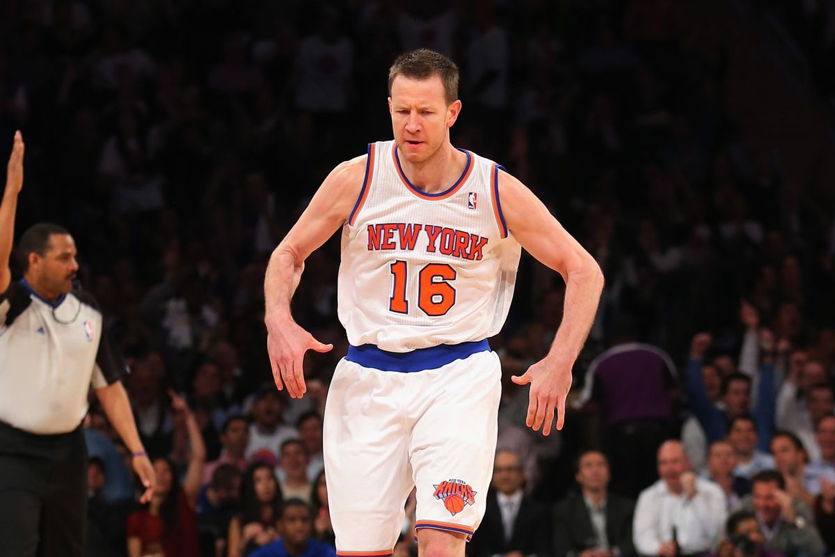 da19cecc8f6 Utah Jazz at New York Knicks  Steve Novak takes Manhattan - SLC Dunk
