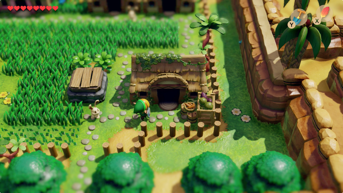 Link's Awakening Animal Village Chef Bear house location