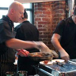 Chef Tim Payne of Row 14