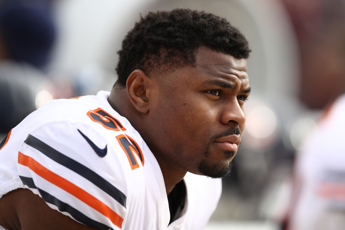 A year after minicamp holdout, Bears' Khalil Mack 'all about his teammates'