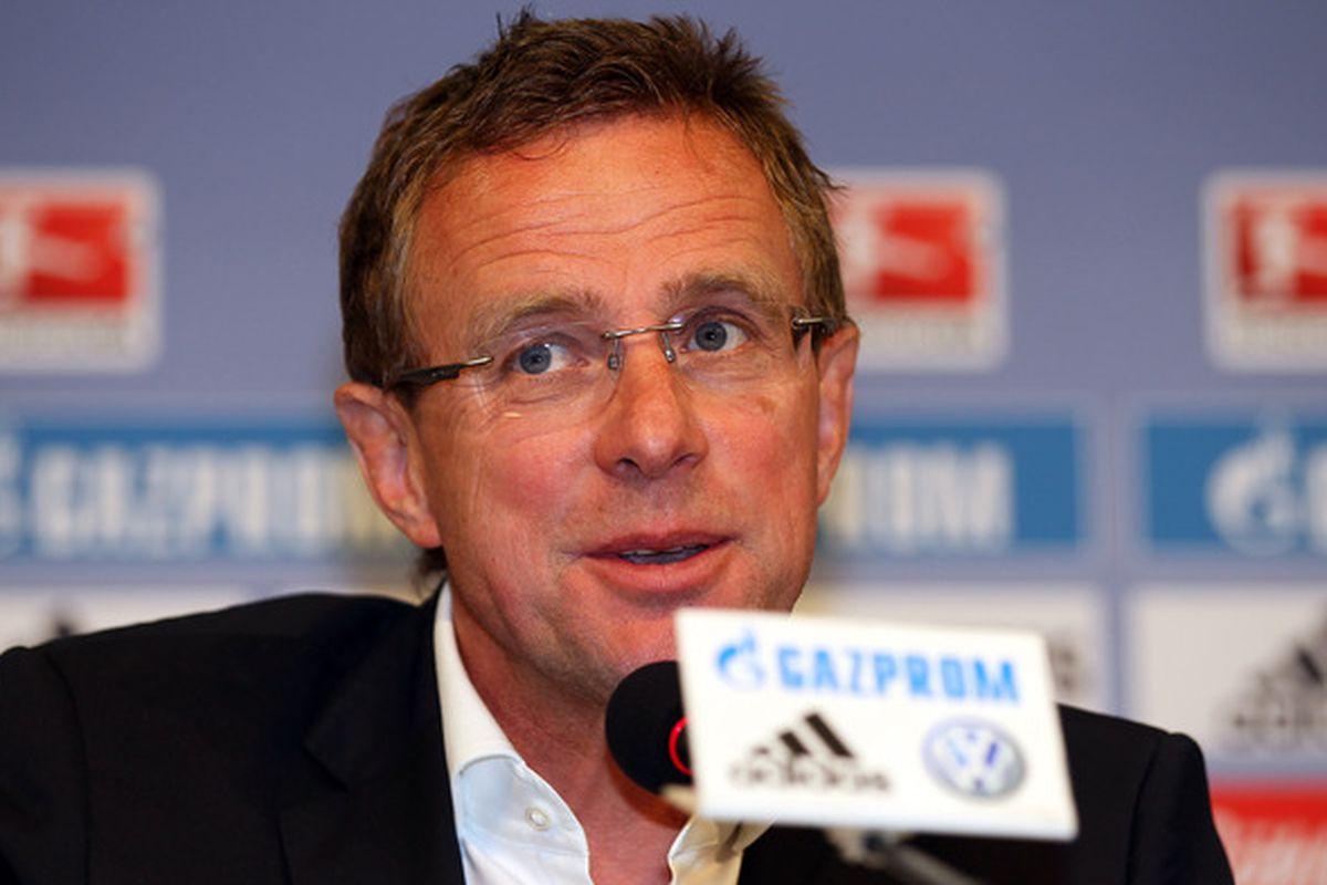 Ralf Rangnick: A surprise contender for the Everton job
