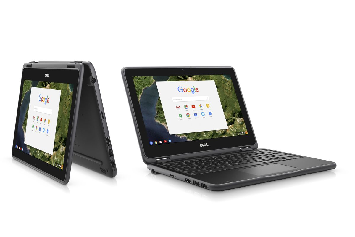 Dell Now Has A Convertible Chromebook Too The Verge