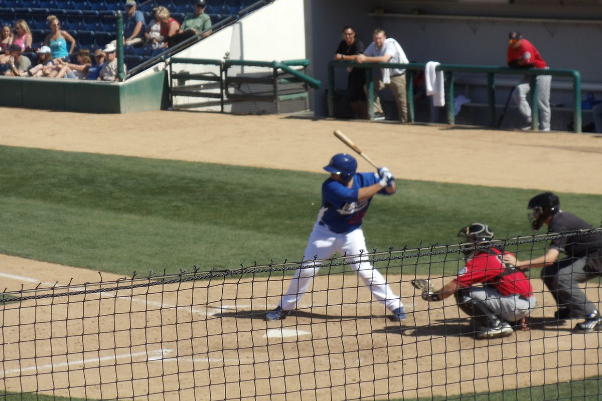 Chris O'Brien while playing with the Quakes in 2013