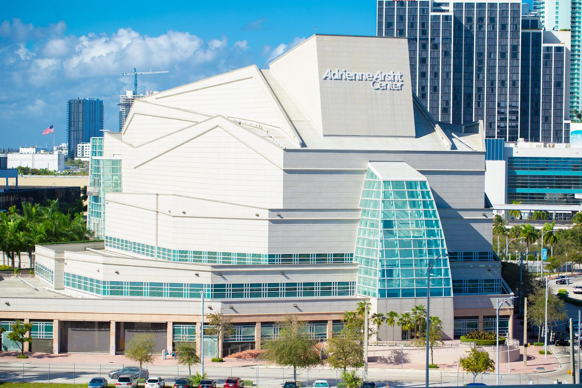 The Adrienne Arsht Center for the Performing Arts in Miami, Florida.