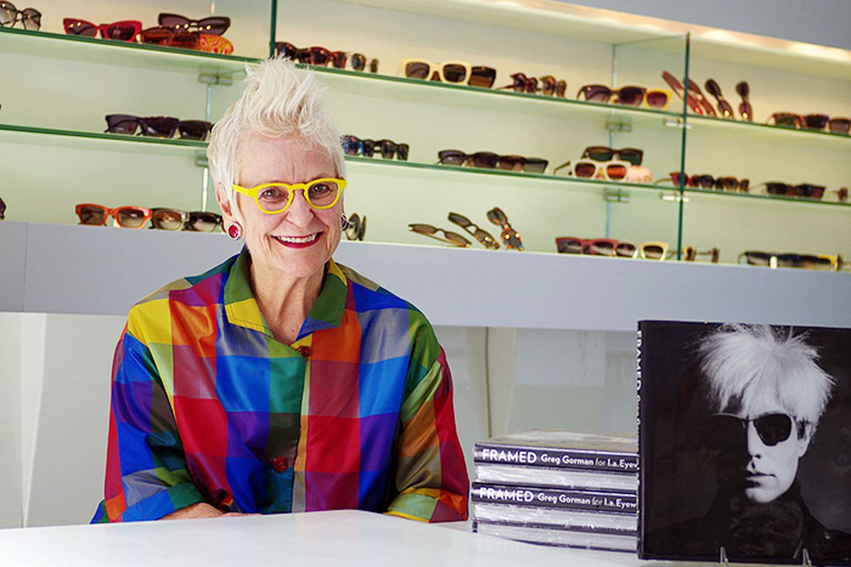 """Photo via <a href=""""http://www.laimyours.com/28008/an-l-a-visionary-an-interview-with-gai-gherardi-of-l-a-eyeworks/"""">LA, I'm Yours</a>"""