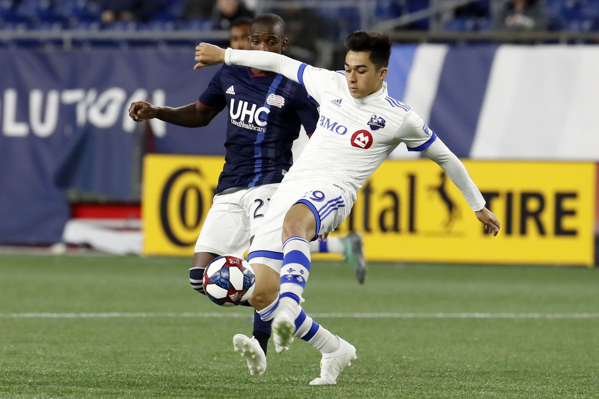 SOCCER: APR 24 MLS - Montreal Impact at New England Revolution