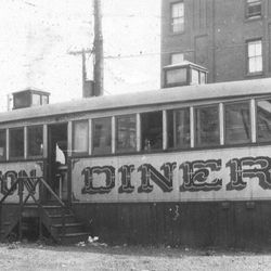 """Hamilton Diner, 294 Hamilton Ave, Brooklyn, 1930's, From NY Diners [<a href=""""http://www.nydiners.com/nycd.html"""">link</a>]"""