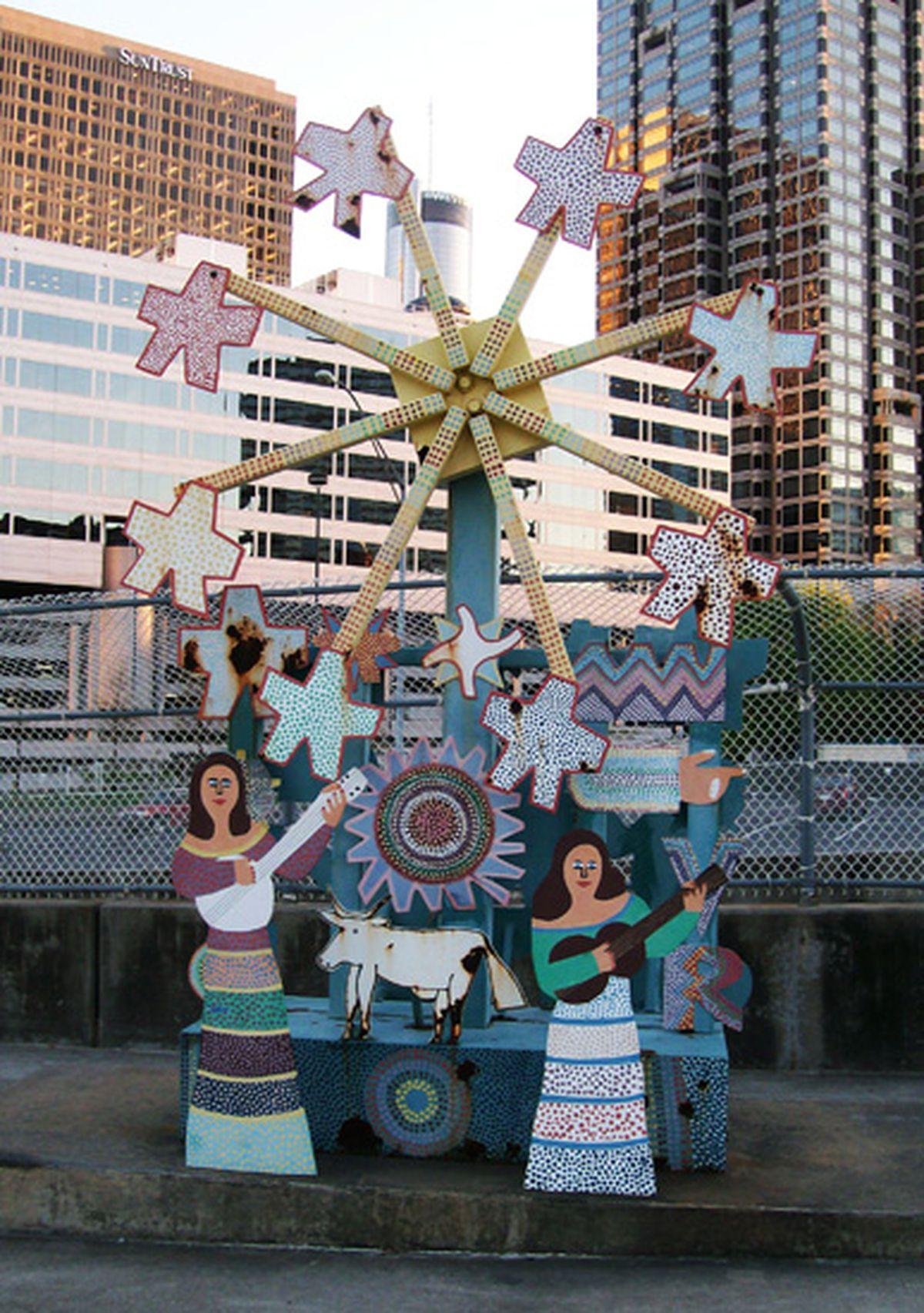 Downtown Atlanta S Folk Art Park Will Be Reborn This Week