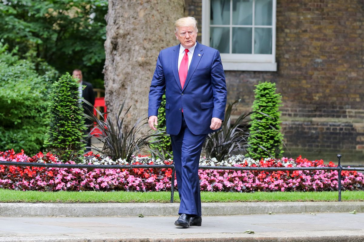 After Odessa shooting, Trump chooses to focus on knife crime