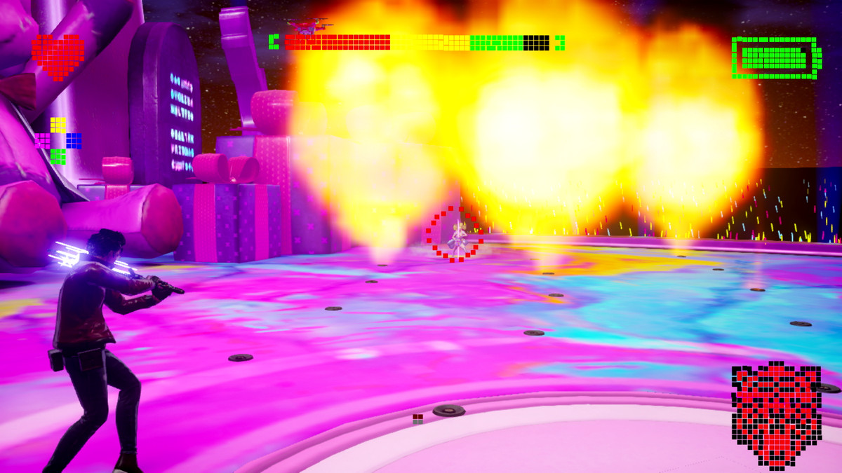 The Kimmy Love boss battle from No More Heroes 3