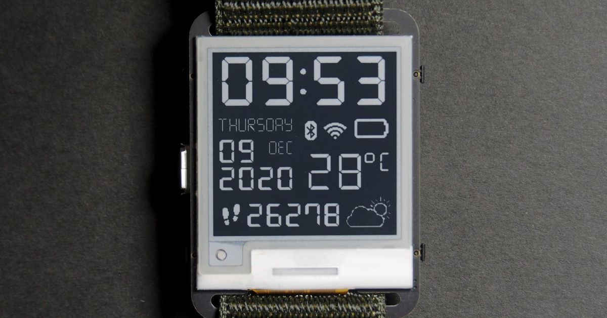 hack-together-your-own-e-paper-smartwatch-with-this-50-open-source-kit