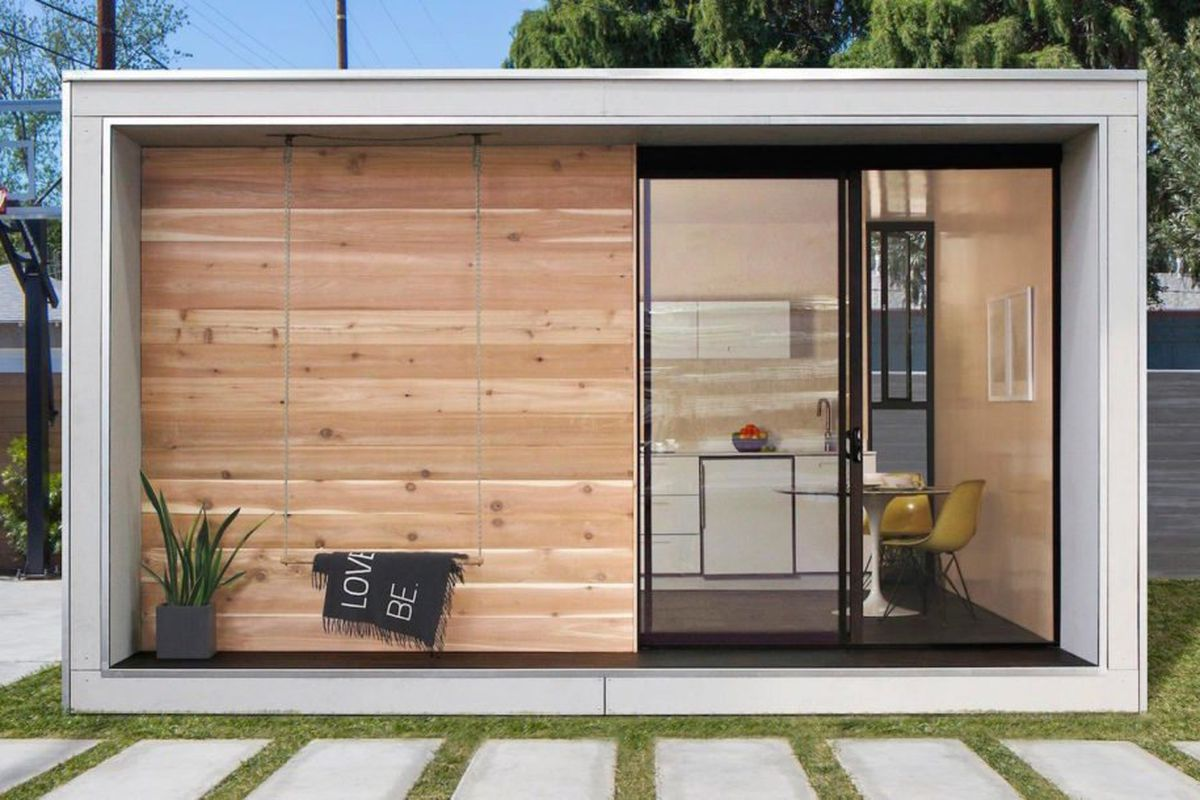 New tiny house was created to combat la s housing shortage for Accessory dwelling unit austin