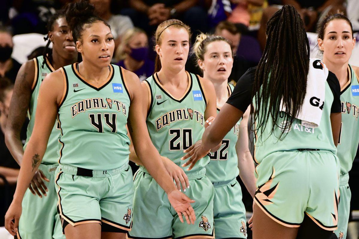 2021 WNBA Playoffs - New York Liberty v Phoenix Mercury