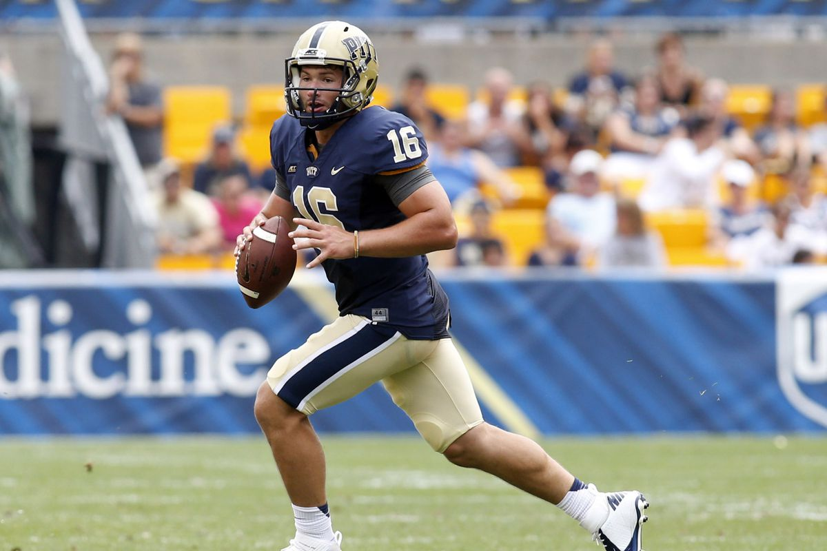 Chad Voytik is looking to keep Pitt moving in the right direction on Friday night.