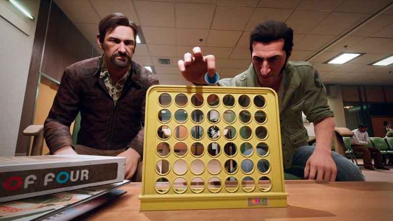 A Way Out - Leo and Vincent playing Connect Four