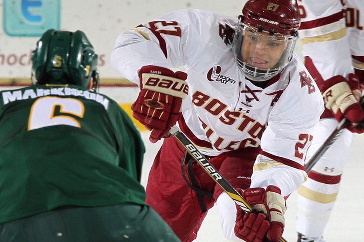 boston college hockey vermont