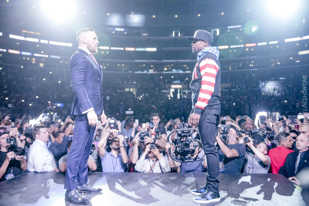All Access: Mayweather vs. McGregor, Episode 1