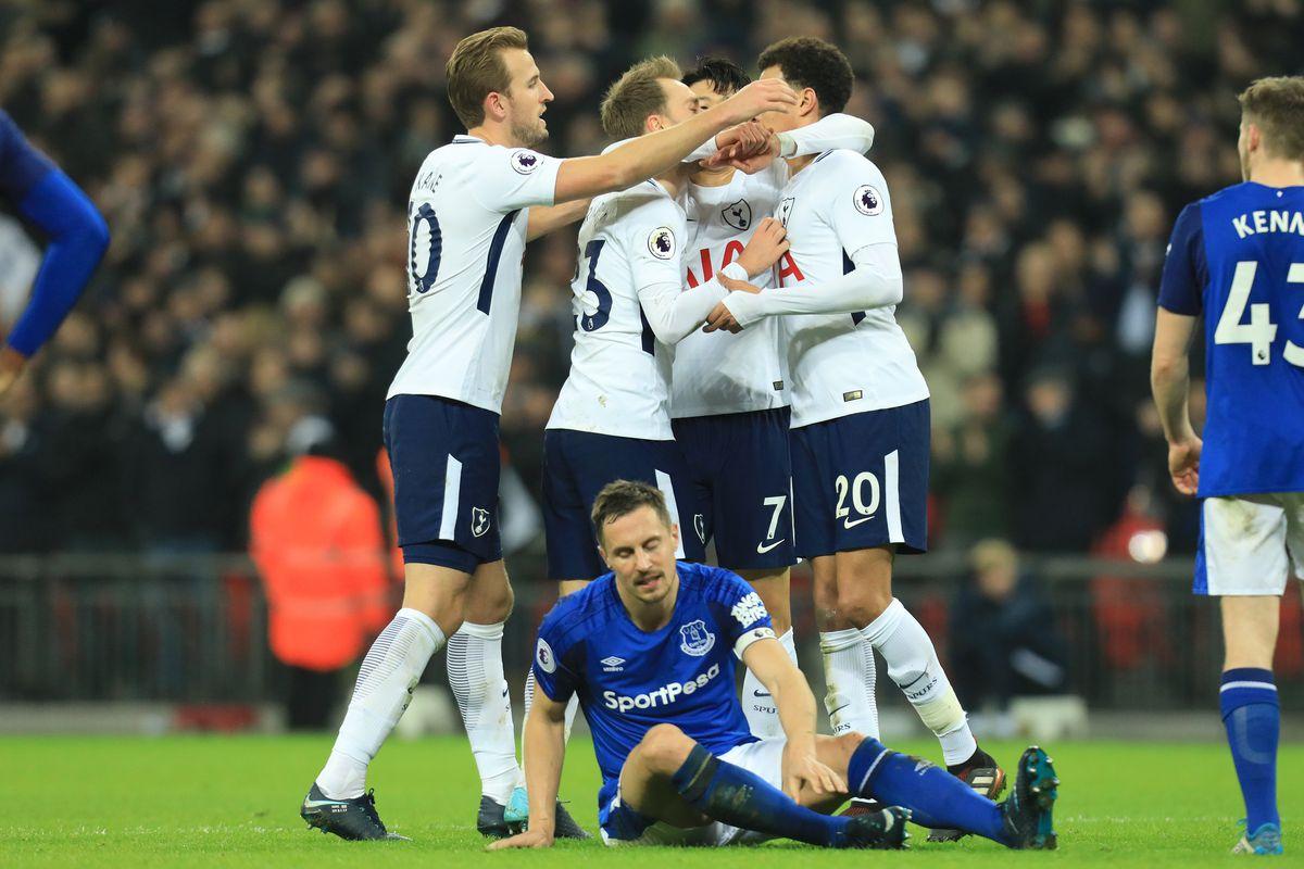 2018 EPL Premier League Football Tottenham Hotspur v Everton Jan 13th