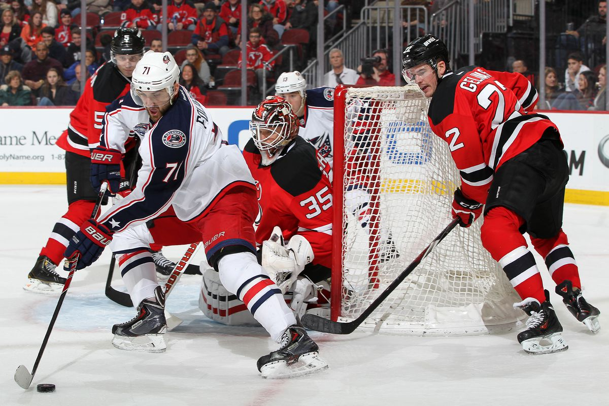 Gelinas showing off how not to defend.
