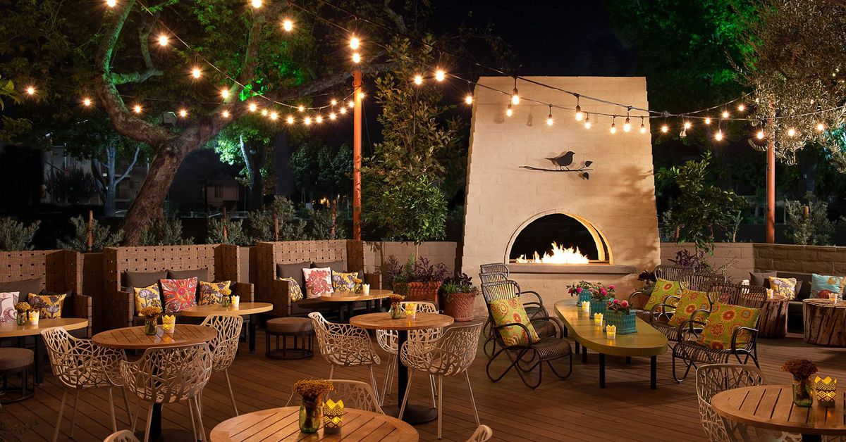 Outdoor Dining Restaurants In Los Angeles, Spring 2018
