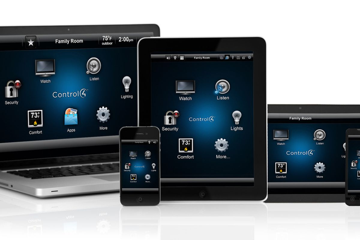 Control4 home automation comes to Android phones and tablets