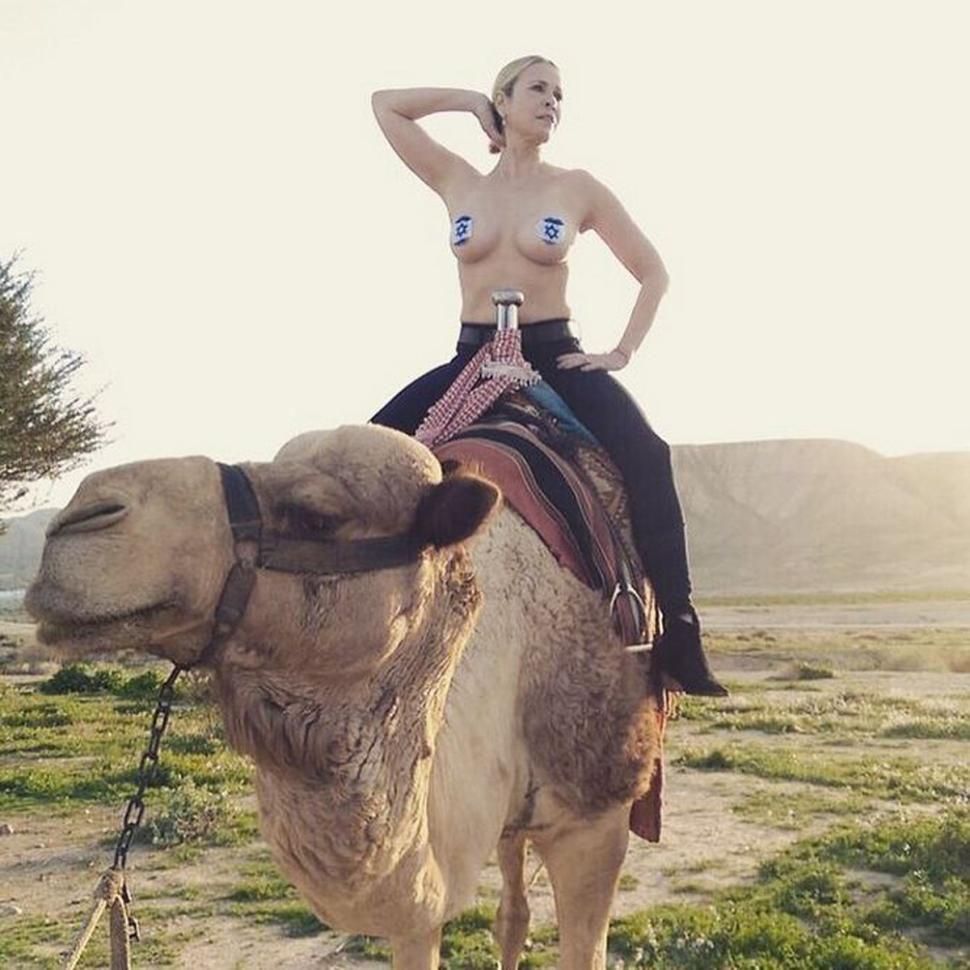 Chelsea Handler got some Instagram attention in Israel in January.