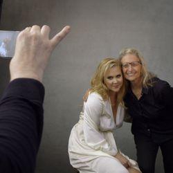 Amy Schumer and Annie Leibovitz