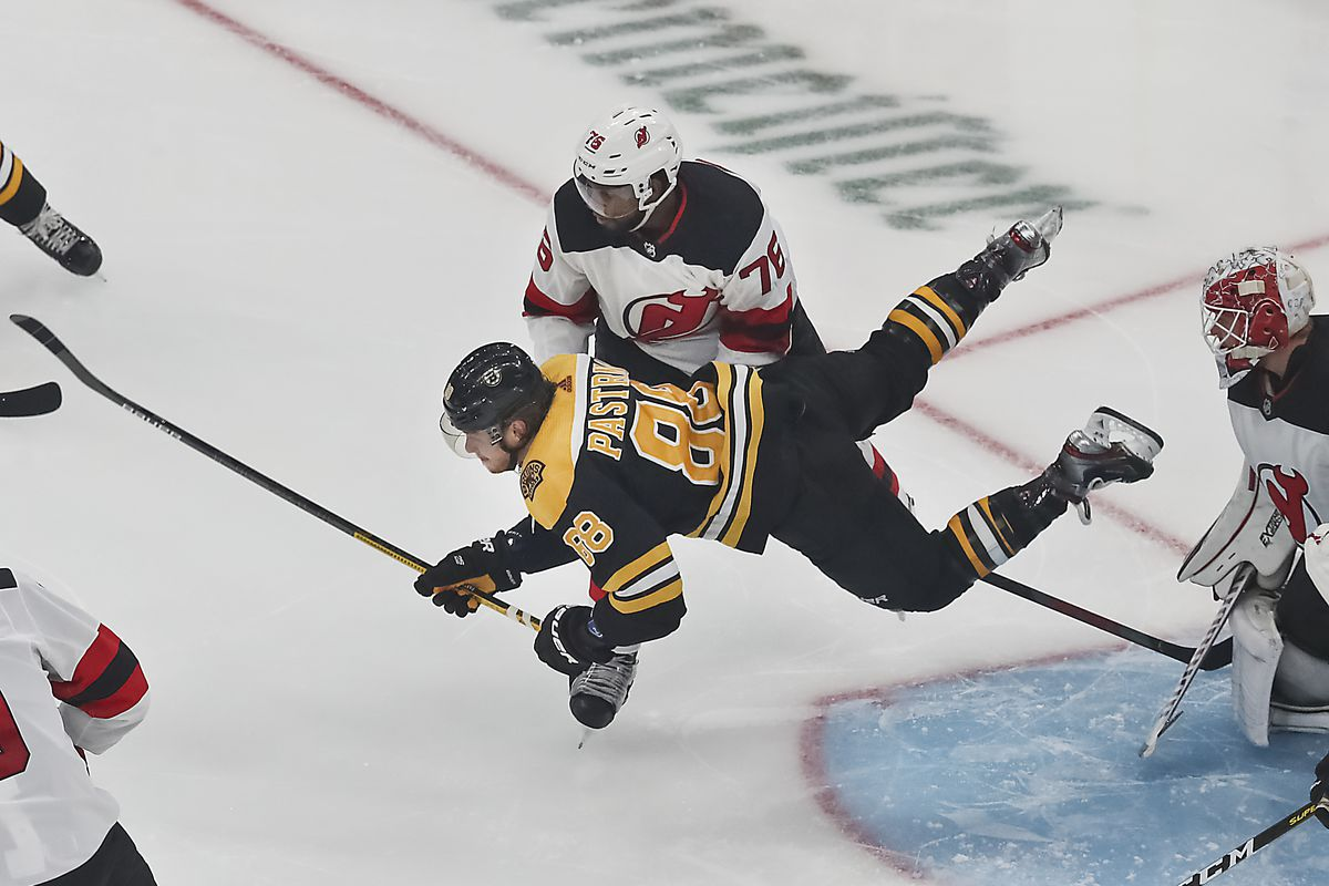 New Jersey Devils Vs Boston Bruins At TD Garden