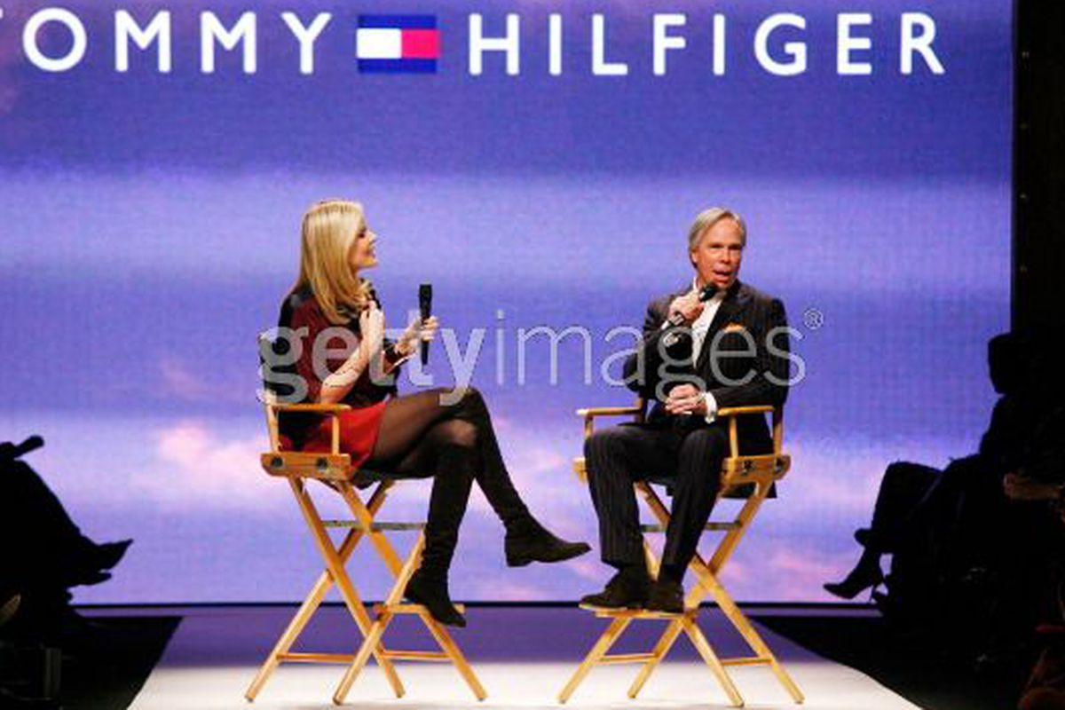 Tommy Hilfiger, soon to be appearing on American Idol, via Getty