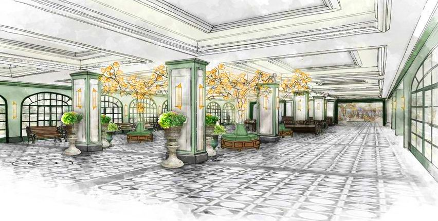 Design inspiration for Park MGM lobby MGM Resorts Intl-Sydell Group