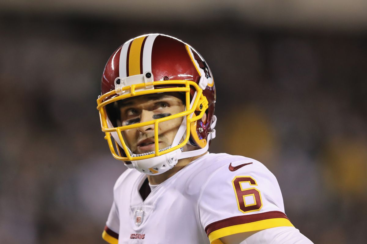 Washington Is Now Relying on Mark Sanchez to Lead a Playoff Push ... 742bcd9d6